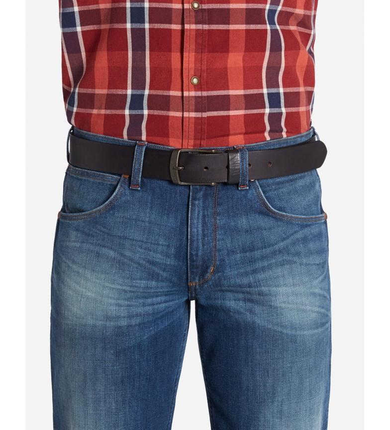 Comprar Wrangler Magnetic leather belt dark brown
