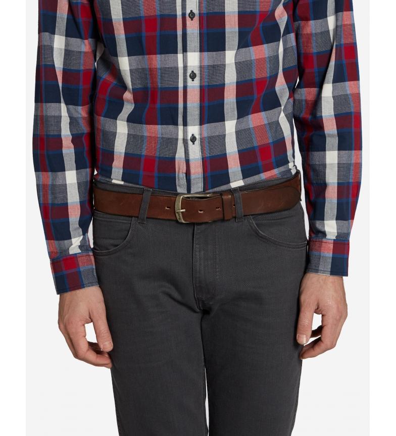 Comprar Wrangler Magnetic leather belt light brown
