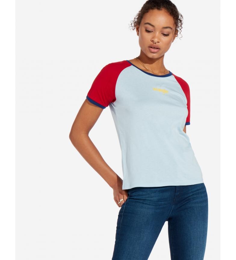 Comprar Wrangler Raglan Tee T-shirt blue, red