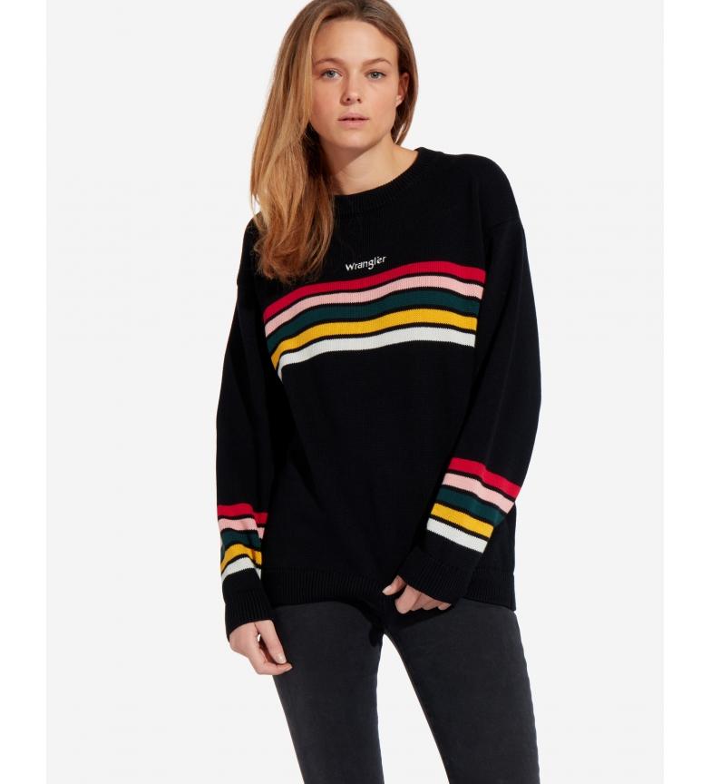 Comprar Wrangler Rainbow Knit sweater black