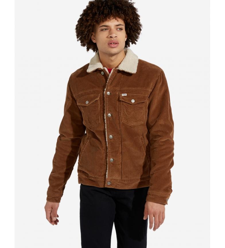 Comprar Wrangler Sherpa jacket brown