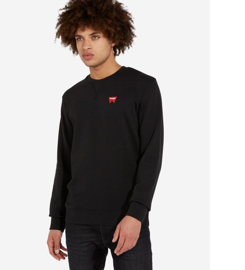 Comprar Wrangler Sweatshirt de l'équipage Sign Off noir