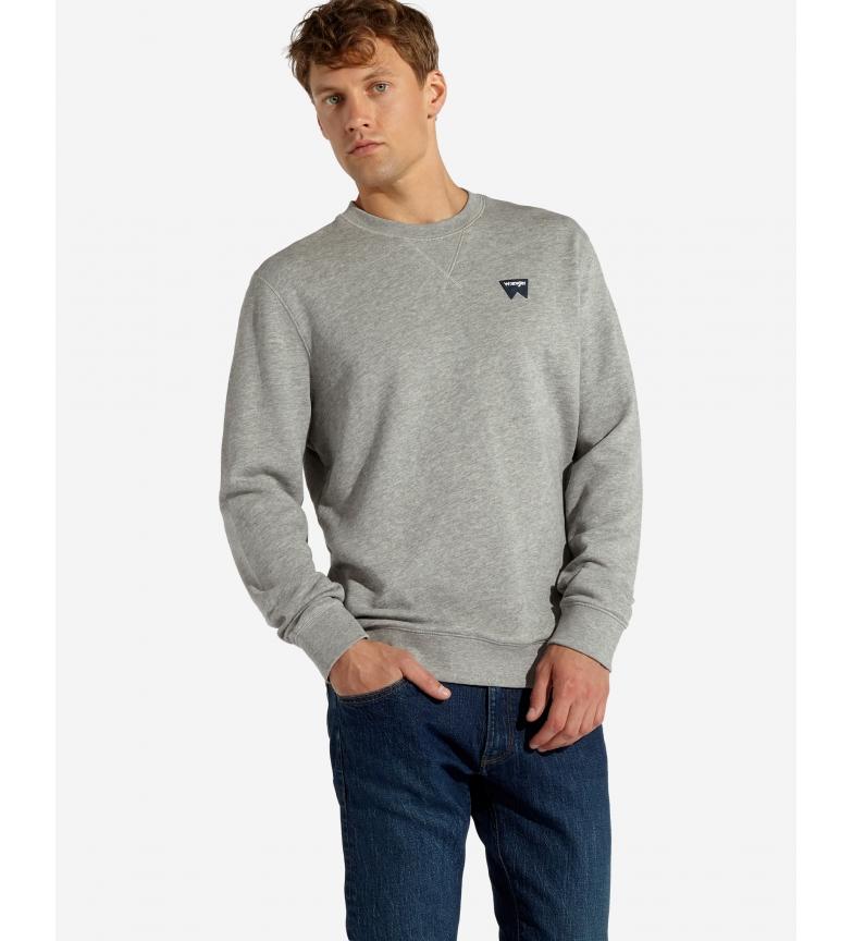 Comprar Wrangler Sign Off Crew gray sweatshirt