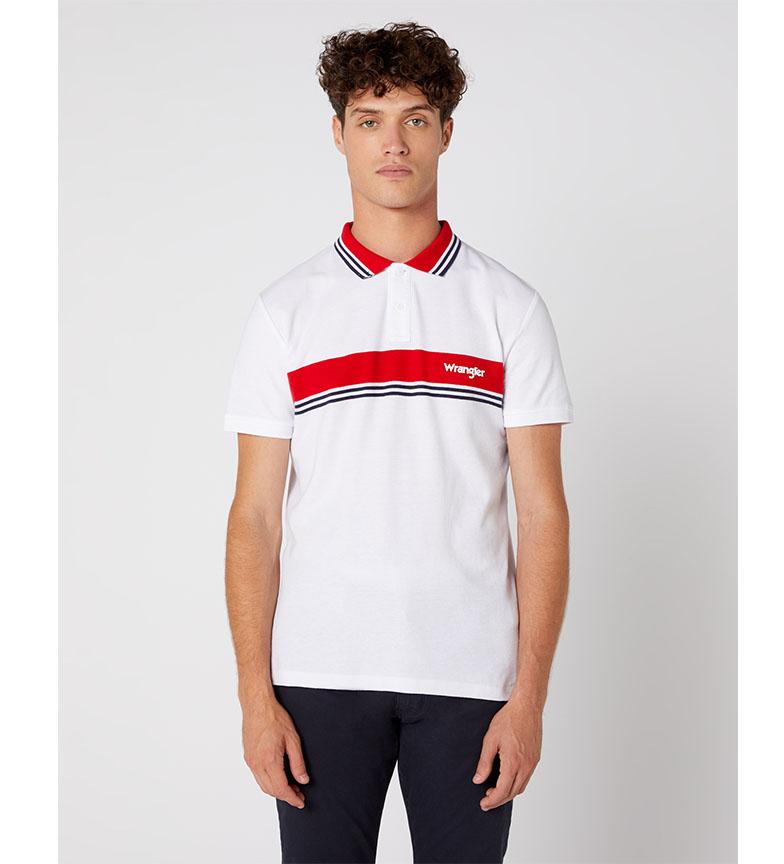 Comprar Wrangler Camisa pólo Colourblock branco