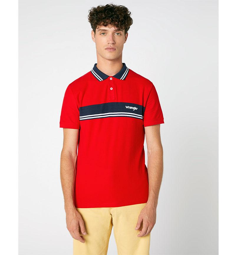 Comprar Wrangler Polo shirt Colourblock red