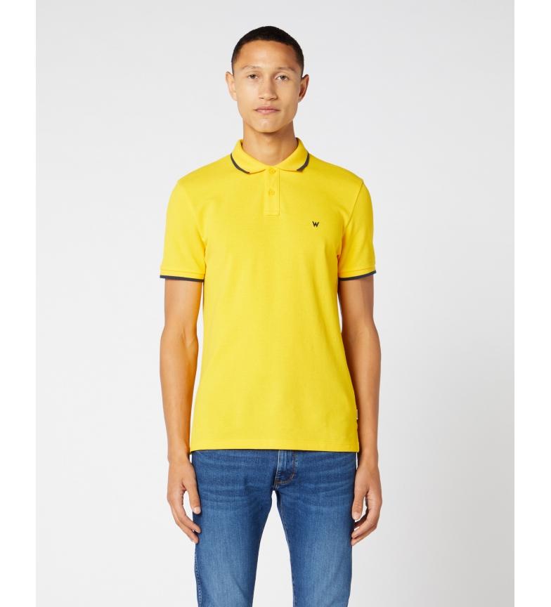 Comprar Wrangler Polo Pique yellow