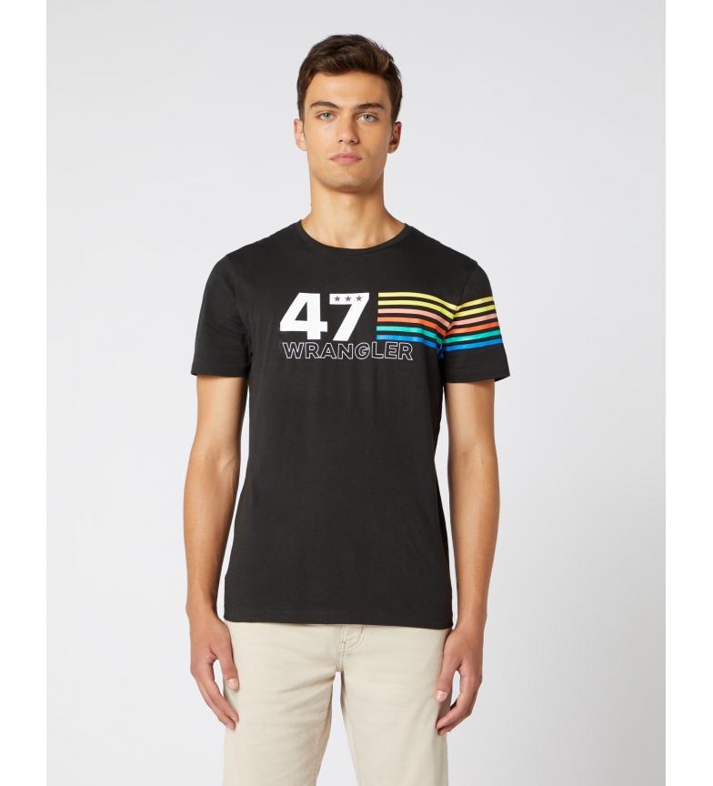 Comprar Wrangler Rainbow T-shirt black