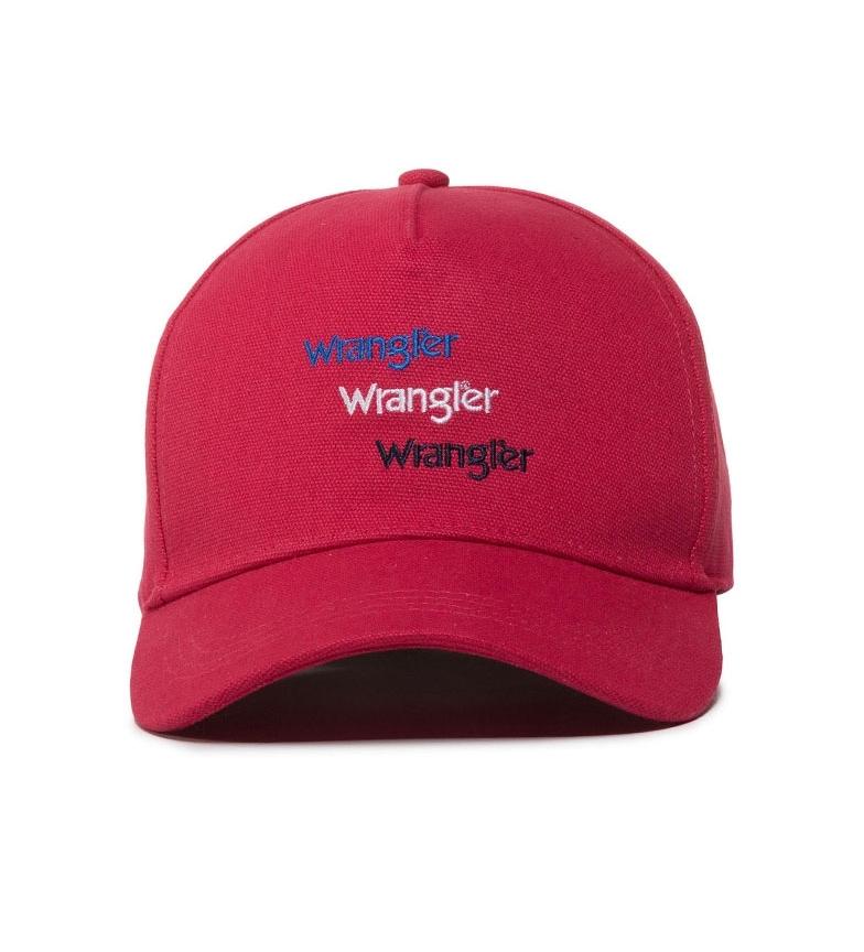 Comprar Wrangler Red Logo Triple Cap