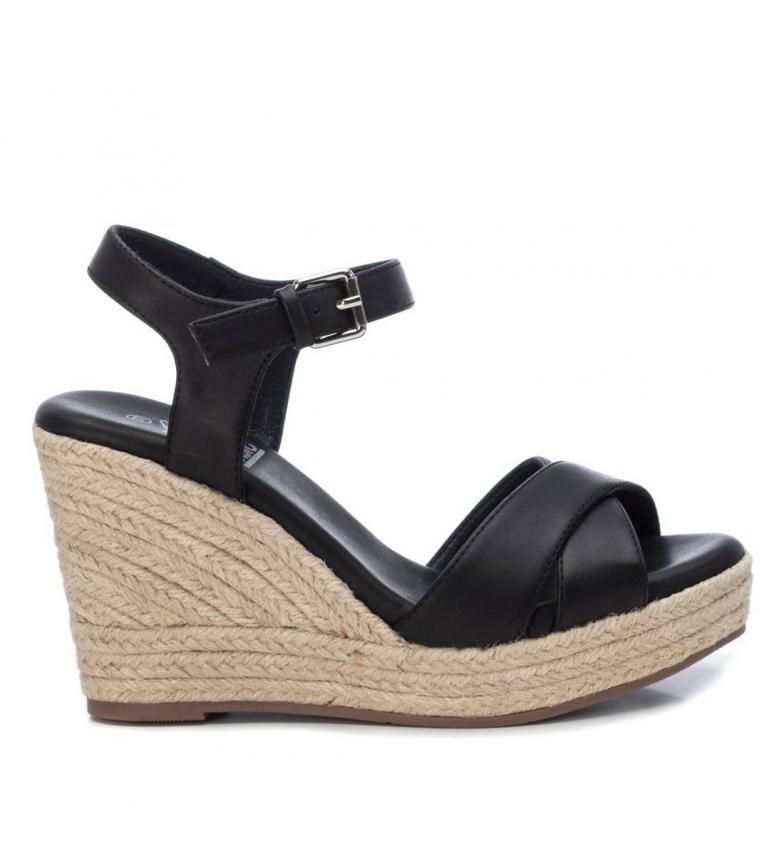 Comprar Xti Sandals Basic 034268 black - Wedge height:10cm