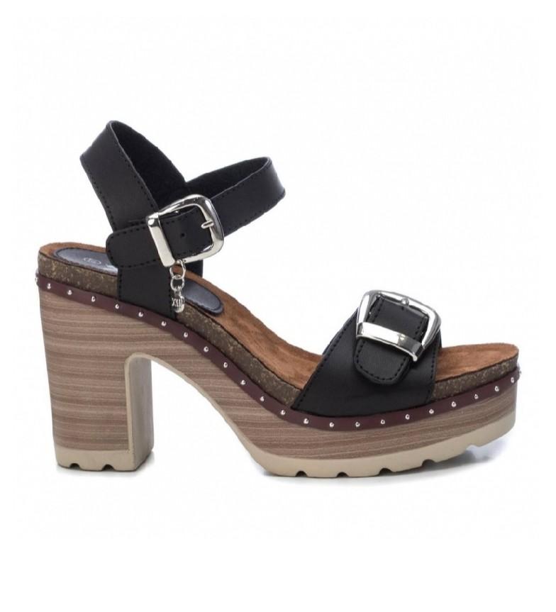 Comprar Xti Sandals 034275 black -Heel height: 10cm
