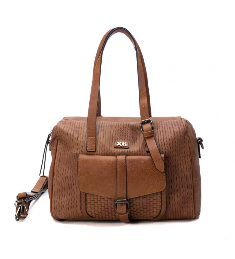 Comprar Xti Handbag 086457 camel -20x31x16cm