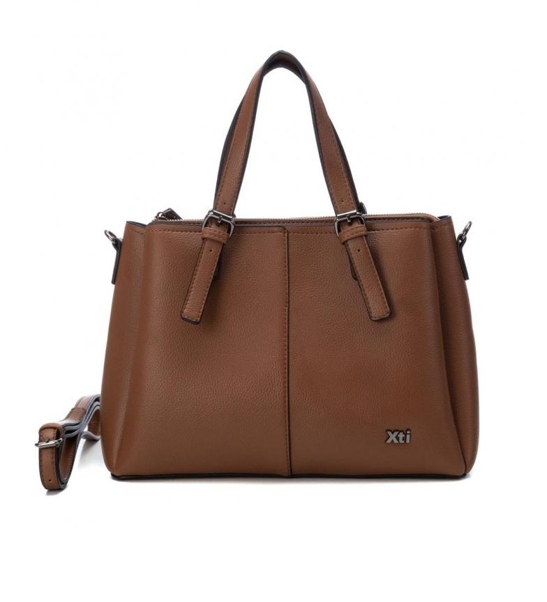 Xti Handbag 086636 camel -24x34x13cm