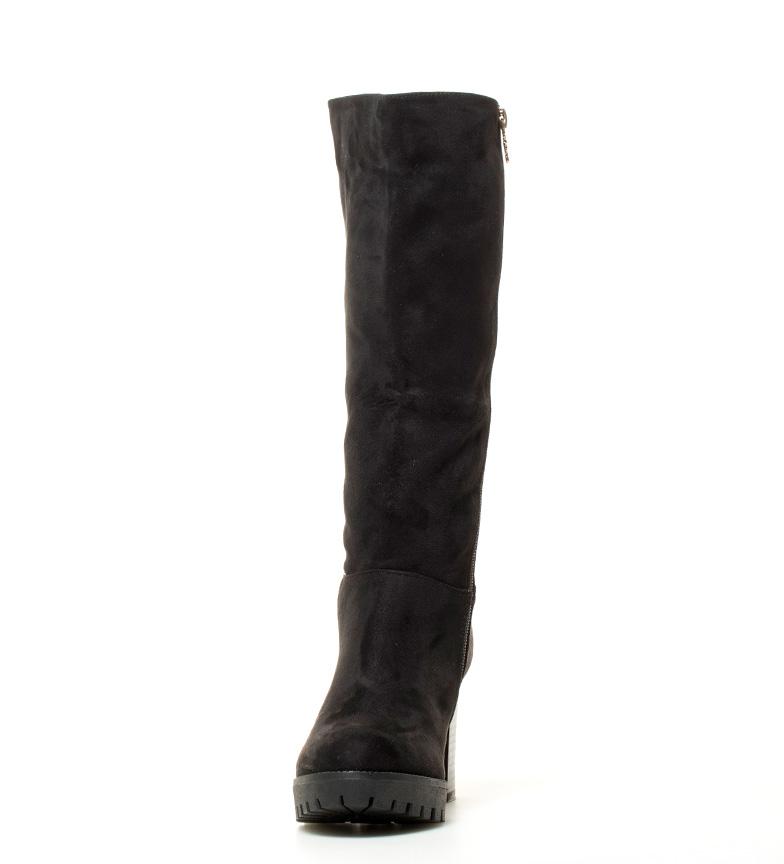 tacón Bota 8 5cm Altura Leah negro Xti wPq4IxR1x