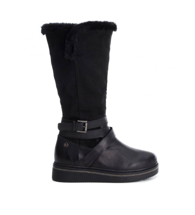 Comprar Xti Flat boot 048447 black