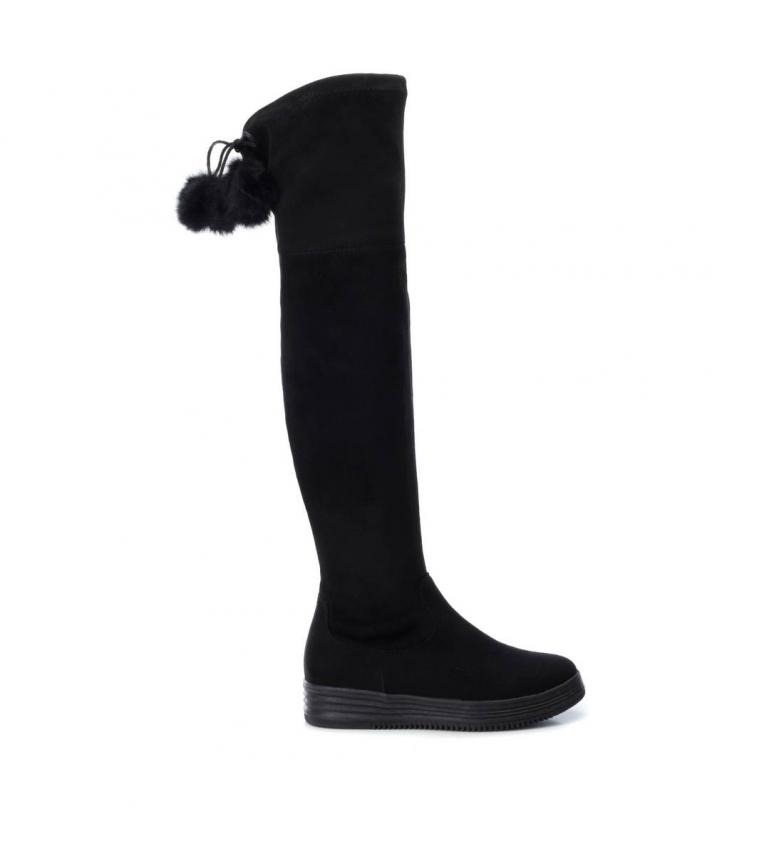 Comprar Xti Flat boot 048587 black