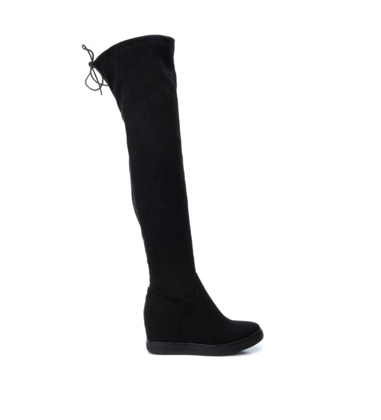 Comprar Xti Boots 48586 black - Wedge height: 10cm
