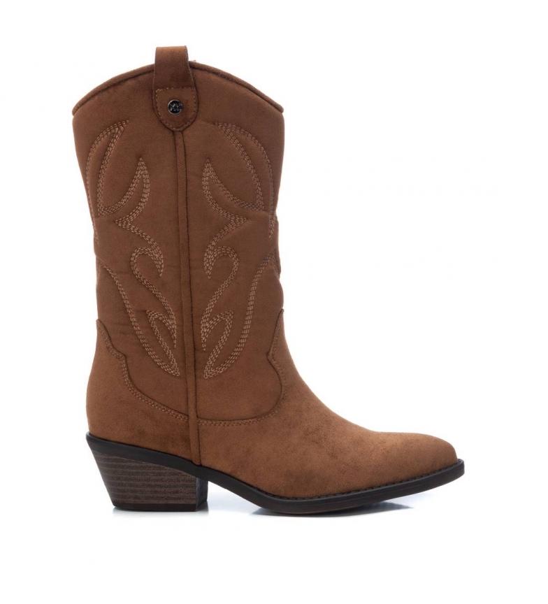 Comprar Xti Boots 044582 camel -Heel height: 5 cm