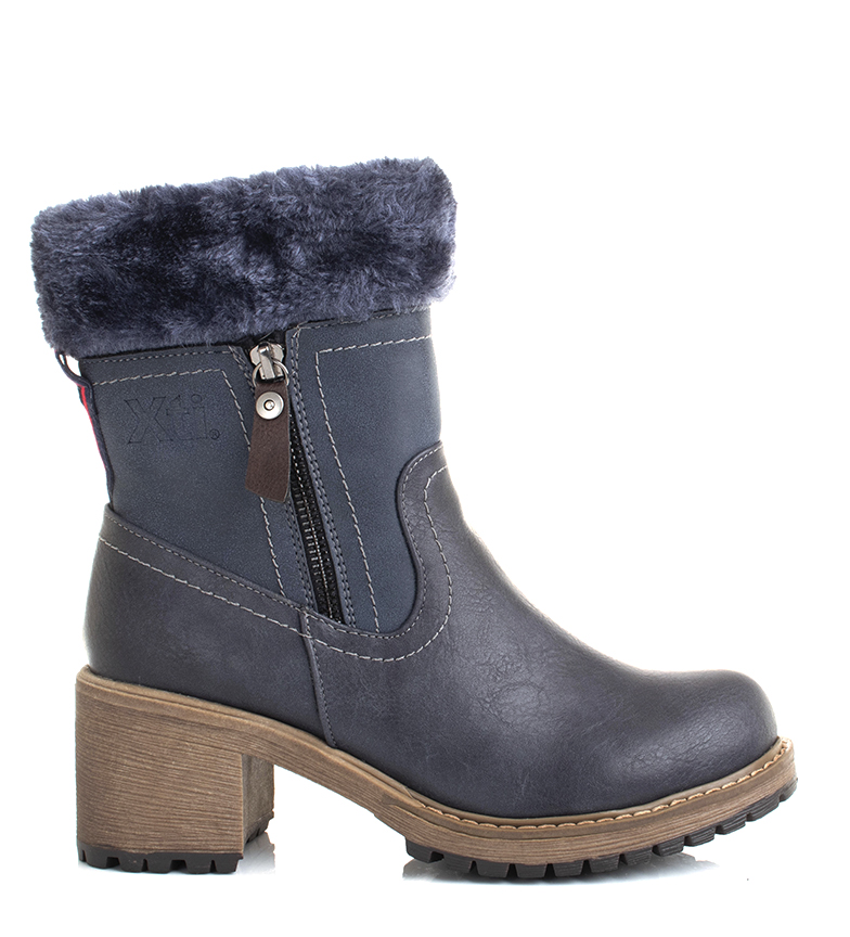 Comprar Xti Boots 64783 navy -Heel height: 6.5cm