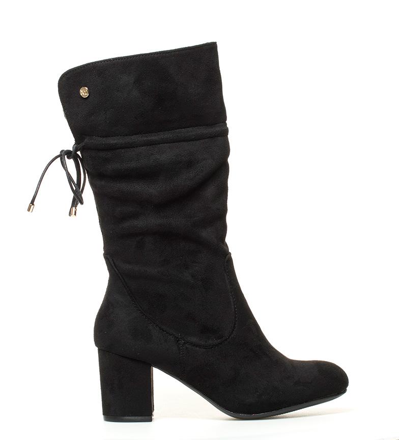 Comprar Xti Black Dora boots - Heel height: 7 cm-