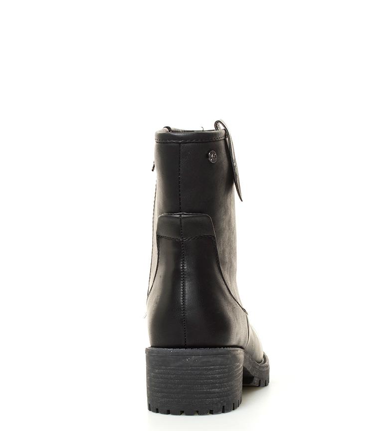 cm negro Botas Altura 5 tacón Xti Estefania Bqwf8fv