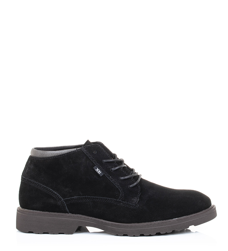 Comprar Xti Leather boots 48179 black
