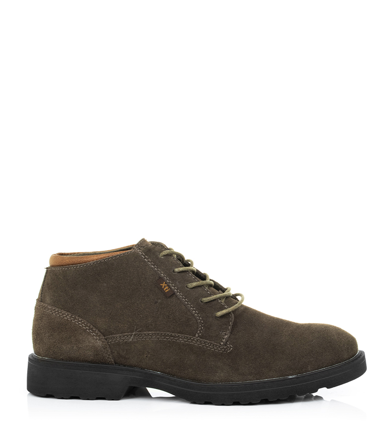 Comprar Xti Leather boots 48179 taupe
