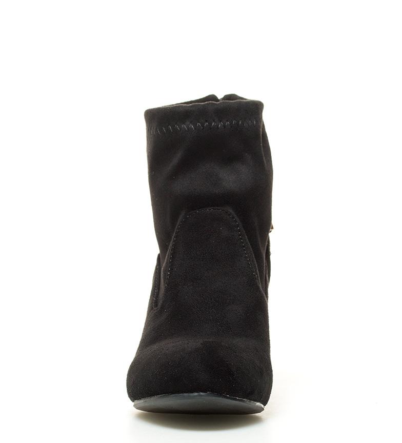Xti Botines Nicla negro Altura tacón: 8cm