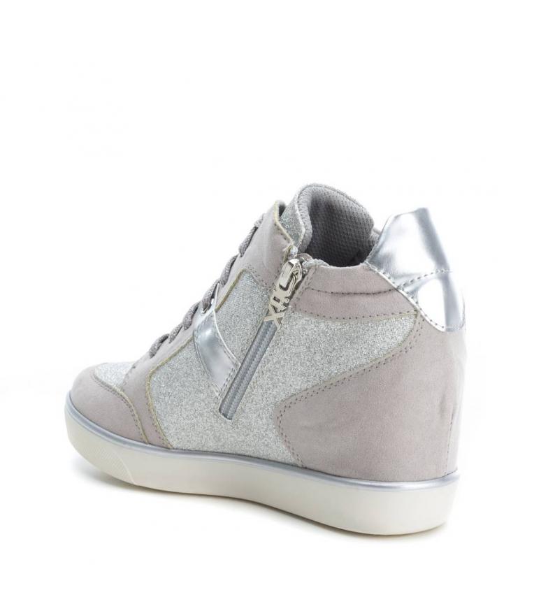 Zapatillas interior Altura abotinada 6cm Xti hielo cuña Zapatillas Xti xUwnqHf