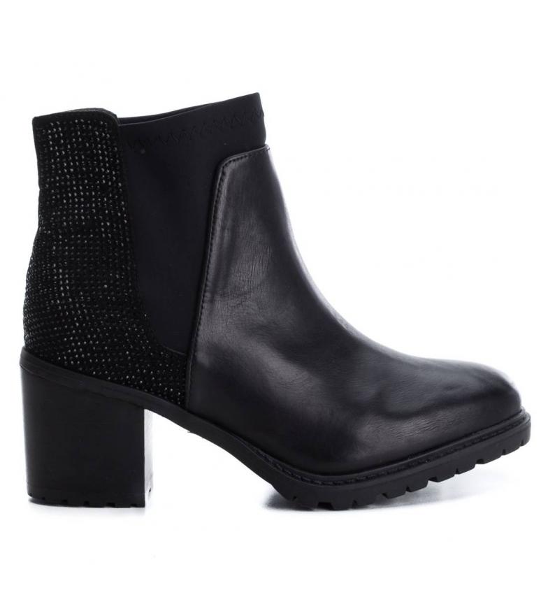 Comprar Xti Sparkle boots black -heel height: 7cm