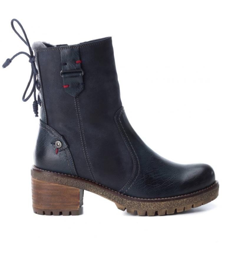 Comprar Xti Boot heel 033972 navy