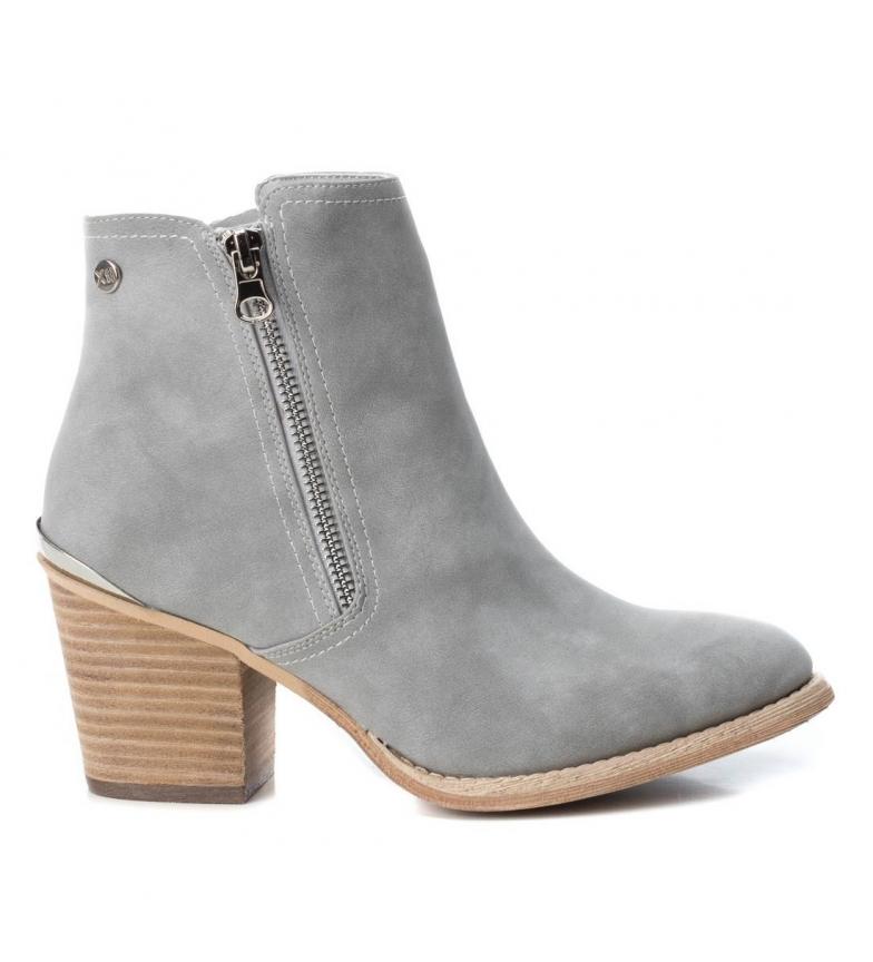 Comprar Xti Booty wide heel cow boy 048927 ice -Heel height: 7cm