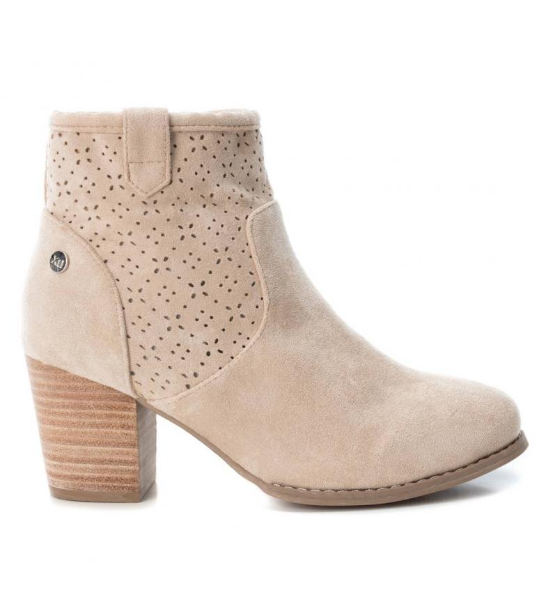 Comprar Xti Booty wide heel 034131 beige -Heel height: 6cm