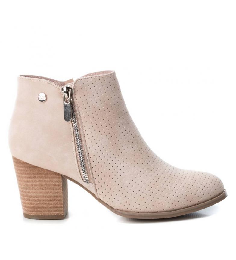 Comprar Xti Booty wide heel 048981 nude -Heel height: 7cm