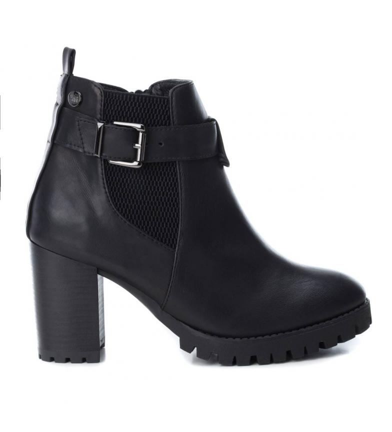 Comprar Xti Chelsea heel boot 048467neg black -Heel height: 8cm-