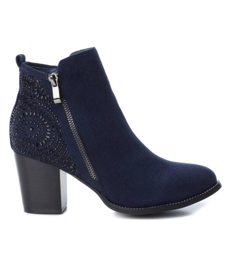 Comprar Xti Booty heel cow boy 048398nav marinha