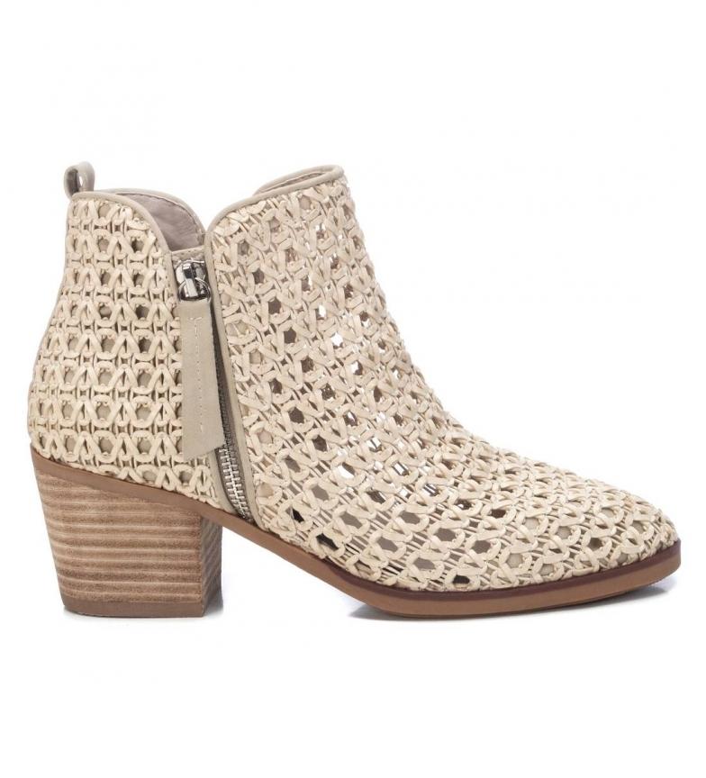 Comprar Xti Ankle boots 042373 beige -Height heel 6cm