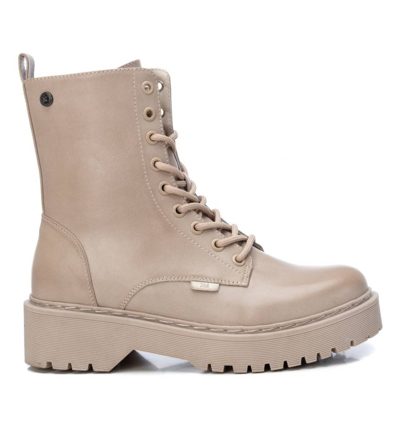 Xti Ankle boots 043504 beige
