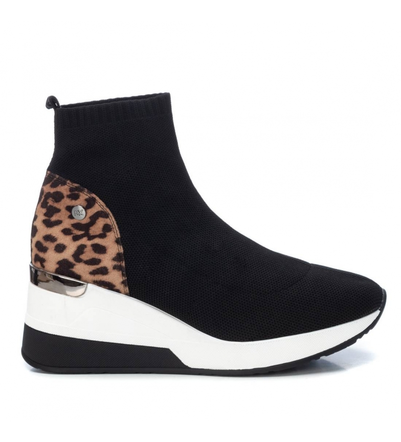 Comprar Xti Ankle boots 044568 black - wedge height: 7 cm