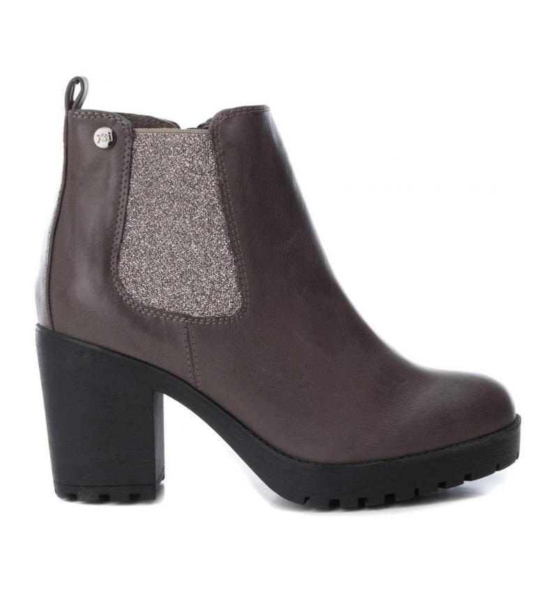 Comprar Xti Chelsea heel boot 048455 grey -Heel height: 8cm