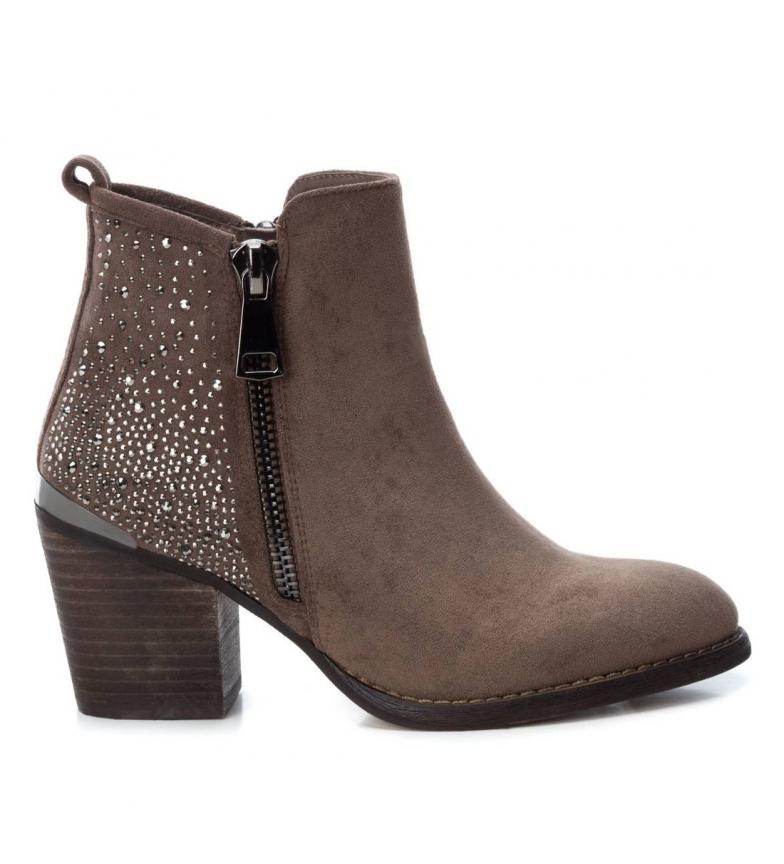Comprar Xti Stivaletti 049448 marrone -Altezza tacco: 7 cm-