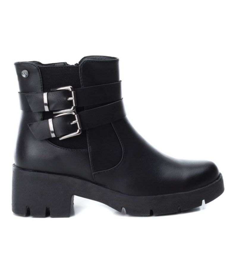Comprar Xti Cheno black boots -heel height: 5cm