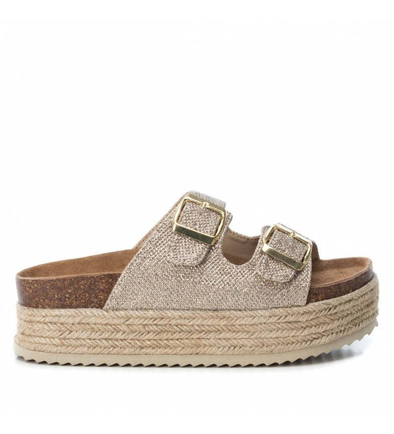 Comprar Xti Roma taupe Sandal - Plataforma alta: 4cm