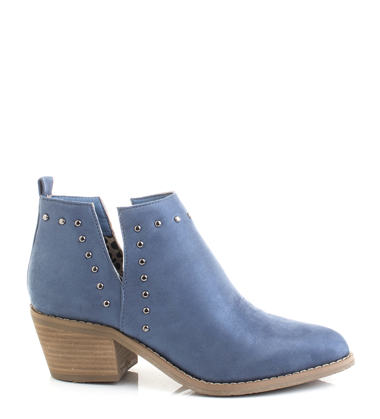 Comprar Xti Botines 34254 azul -Altura tacón: 5.5cm-