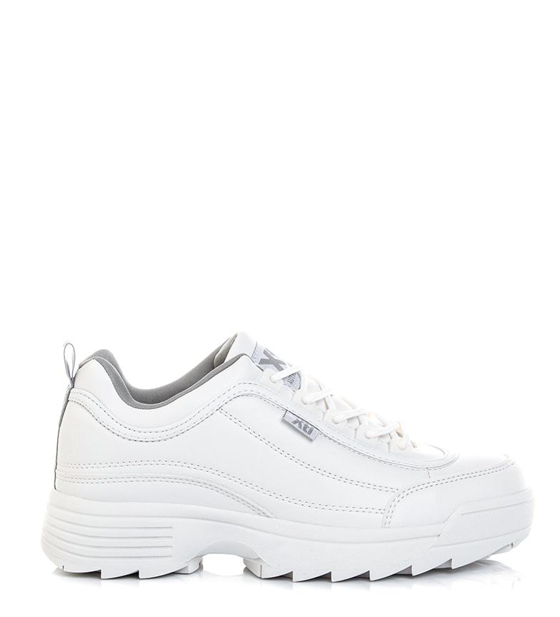 Comprar Xti Chaussures Anaïs blanches, grises - hauteur de la semelle : 4cm