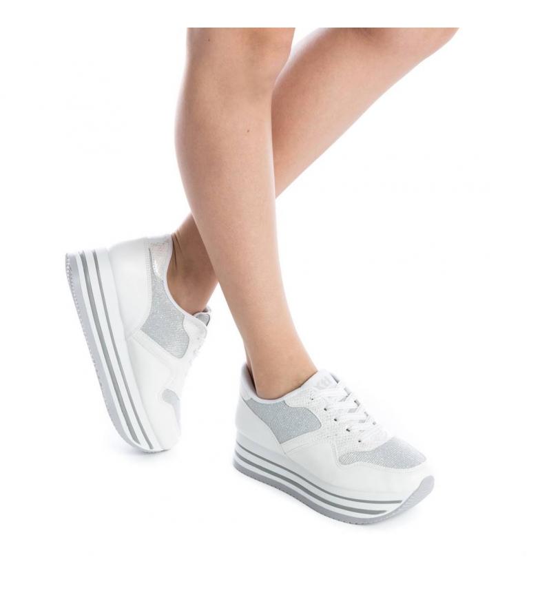 Xti Zapatillas Sira blanco Altura plataforma: 4,5cm
