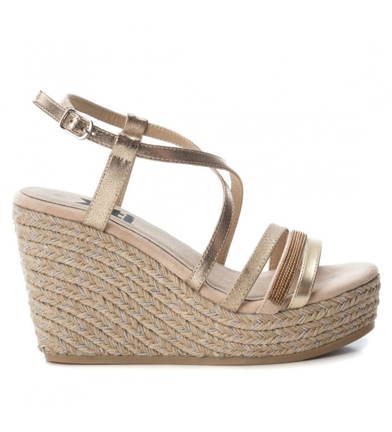 Comprar Xti Sandal 049029 beige - Wedge height: 10cm