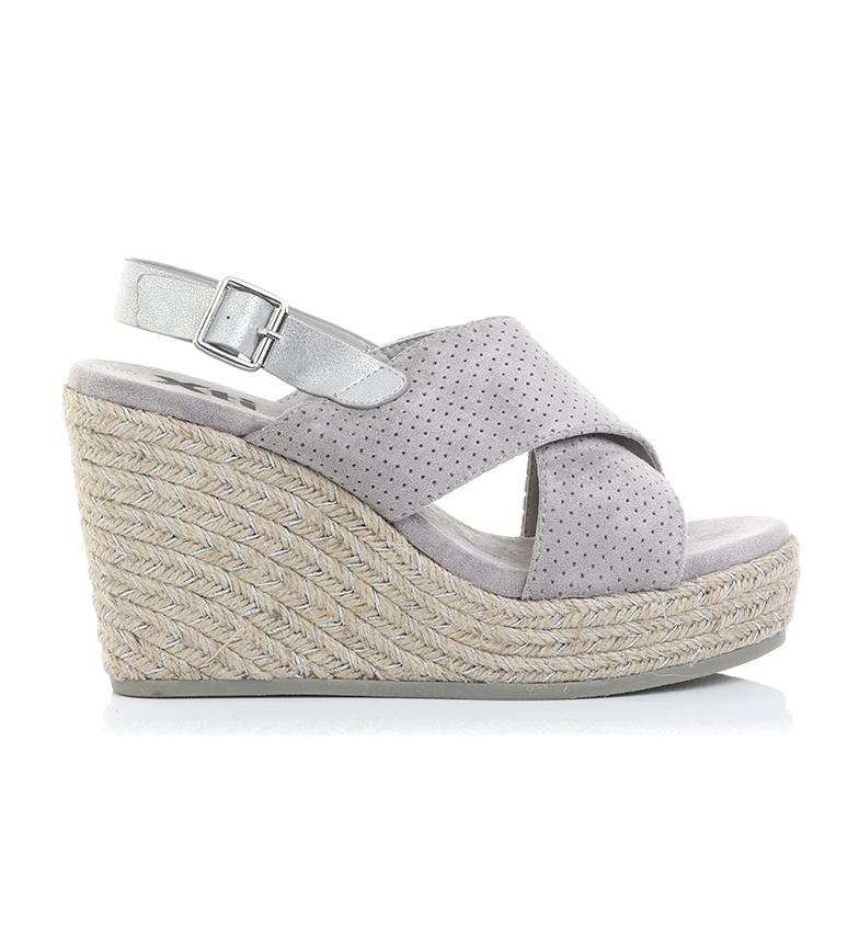 Comprar Xti Sandali 49088 grigio - altezza cuneo: 10cm