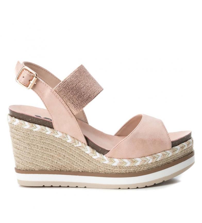 Comprar Xti Sandal 049108 nude - Wedge height: 10cm