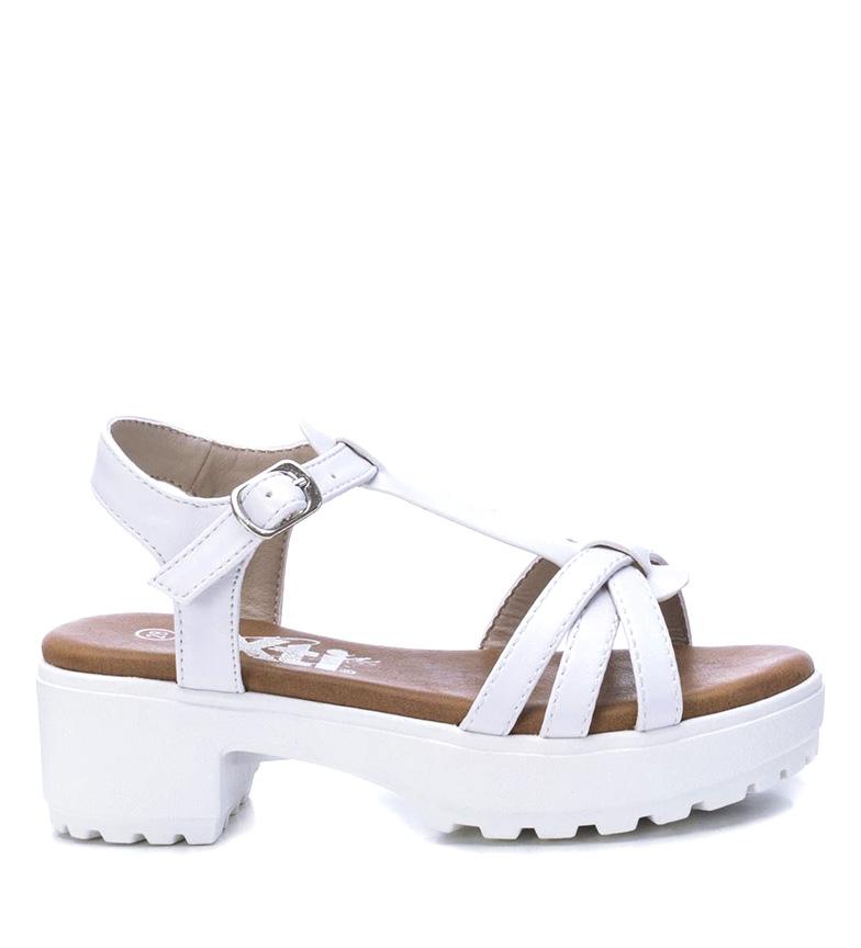 Comprar Xti Kids Sandálias 057103 branco - Altura do calcanhar: 5cm
