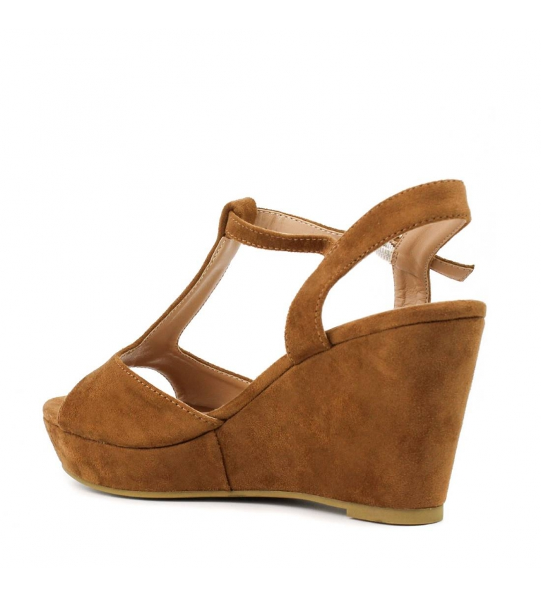 camel Sandalia tango 033452cam cuña Xti qwRxnHX